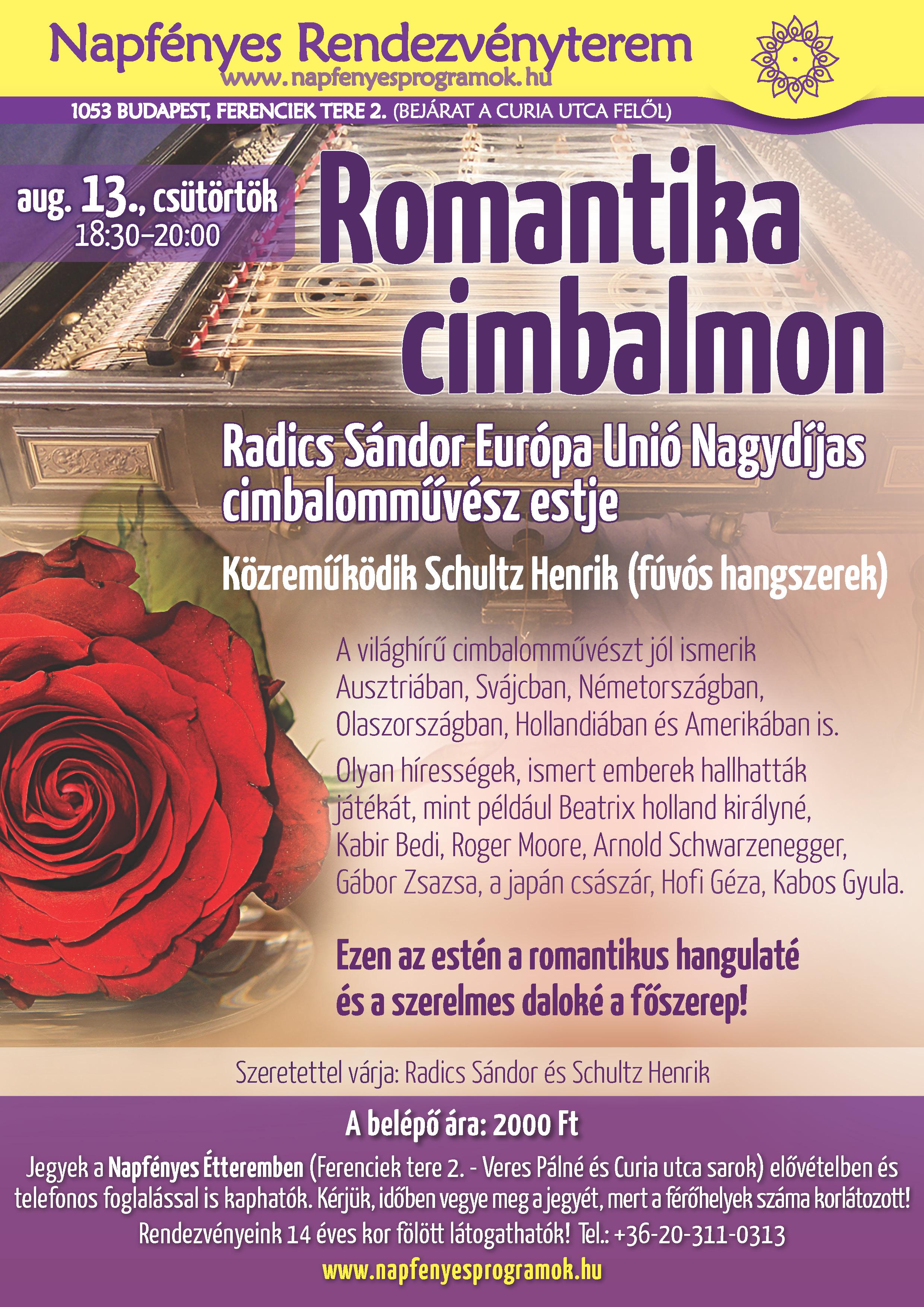 romantika cimbalmon est
