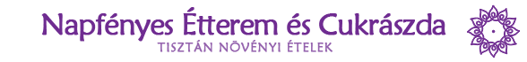 Napfényes Étterem és Cukrászda – Vegán, vegetáriánus étterem Logo
