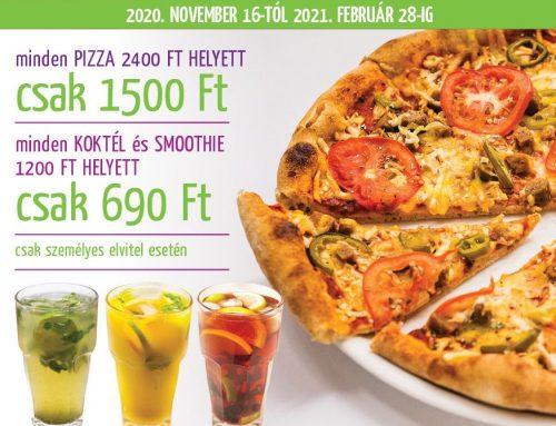 Napfényes Pizza Hétfő